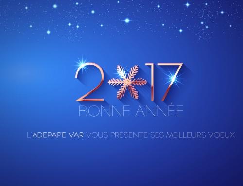 L'ADEPAPE Var vous souhaite une bonne année !